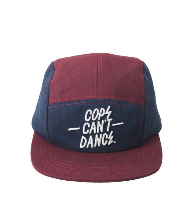 CCD-cap-maroon-red-front