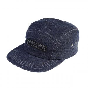 Zip-cap-blue-denim-left-side