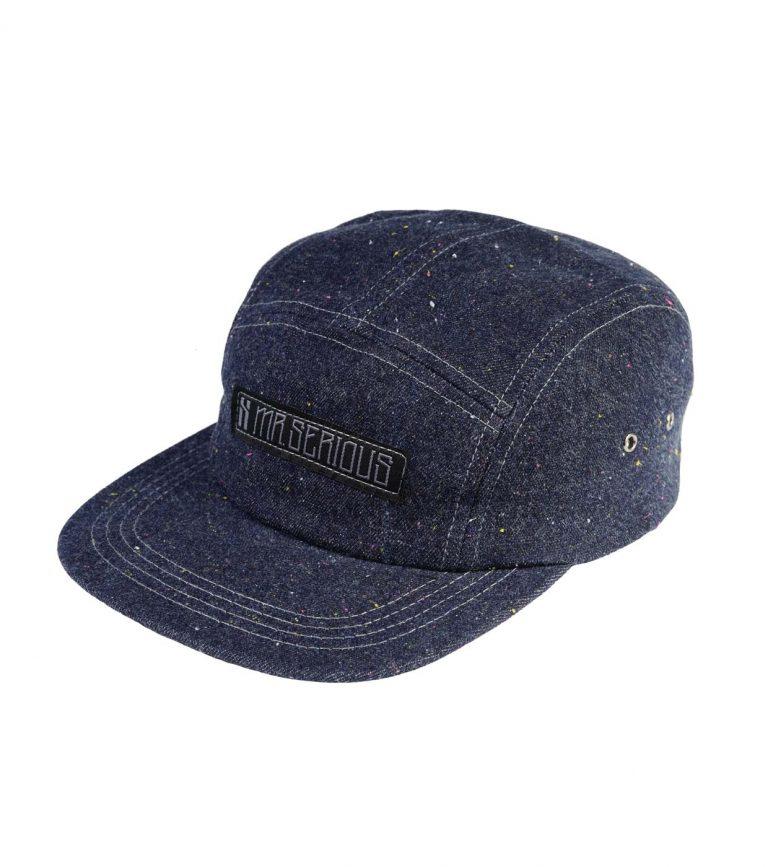 Zip-cap-blue-denim-left-side